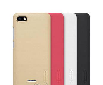 Чехол Nillkin для Xiaomi (Ксиоми) Redmi 6A (черный) + подставка