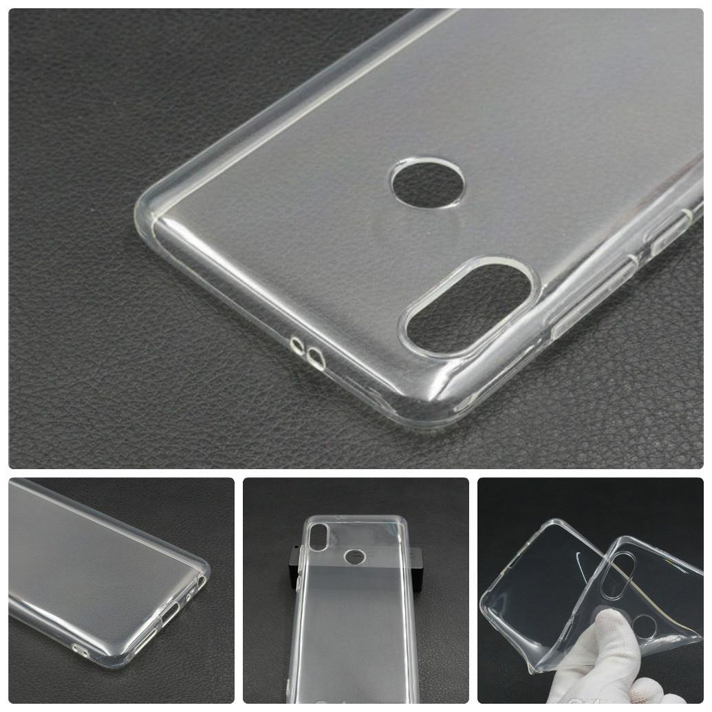 Ультратонкий чехол для Xiaomi (Ксиоми) Redmi 6 Pro прозрачный