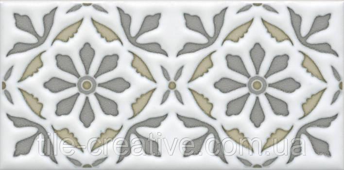Керамическая плитка Декор Клемансо орнамент 7,4х15х6,9 STG\A618\16000