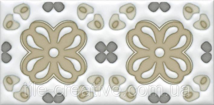 Керамическая плитка Декор Клемансо орнамент 7,4х15х6,9 STG\A616\16000