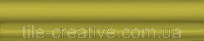 Керамическая плитка Бордюр Багет Клемансо оливковый 15х3х16 BLD038