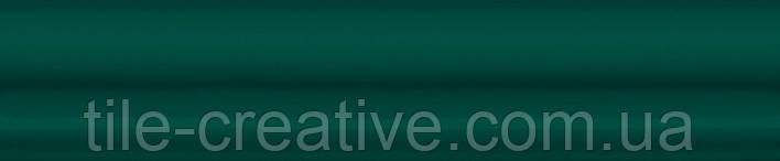 Керамическая плитка Бордюр Багет Клемансо зеленый 15х3х16 BLD035