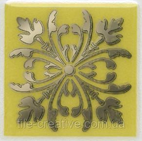 Керамічна плитка Вставка Клемансо оливковий 4,9х4,9х6,9 HGD\B252\5246