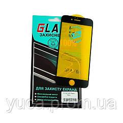 Защитное стекло для APPLE iPhone 6 (0.3 мм, 4D ARC чёрное) Люкс