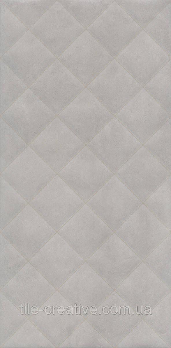 Керамічна плитка Марсо сірий структура обрізний 30х60х9 11123R