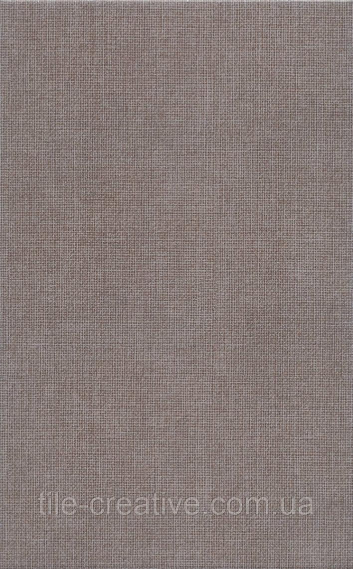 Керамическая плитка Трокадеро коричневый 25х40х8 6344