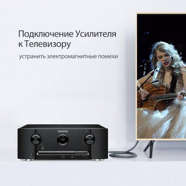 оптический аудио кабель Ugreen AV122 Toslink S/PDIF 1м 1.5м 2м 3м
