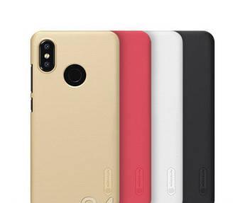 Чехол Nillkin для Xiaomi (Ксиоми) Mi A2 Lite (4 цвета) + пленка (БЕЛЫЙ)