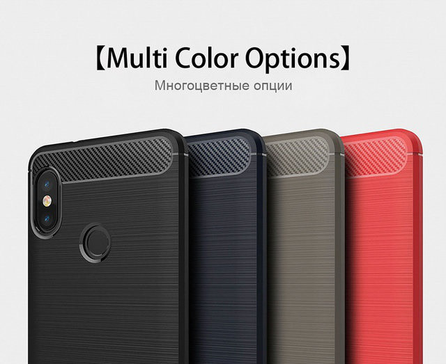 Стильный TPU чехол Urban для Xiaomi (Ксиоми) Mi A2 Lite (4 цвета)