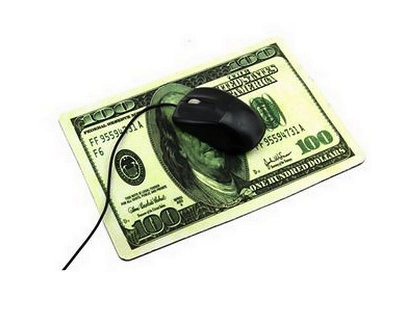 Коврик для компьютерной мыши 100$ 200x280