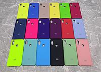 Резиновый брендовый Soft-touch чехол  для Xiaomi Redmi 6 Pro