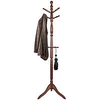 Вешалка деревянная для одежды Onder Mebli «CH-4011C» Коричневый, фото 1