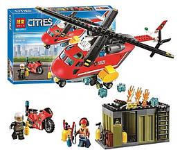 """Конструктор Bela 10829 CITIES (аналог Лего)  """"Пожарная команда быстрого реагирования"""", 274 дет"""