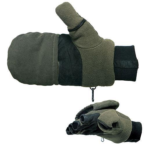 Перчатки-варежки, отстёгивающиеся с магнитом   Salmo размер L