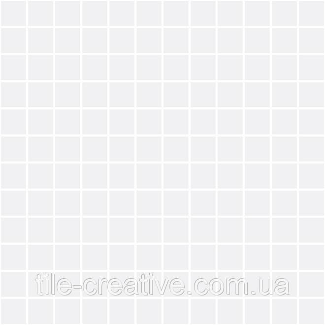 Мозаика Темари белый матовый 29,8х29,8х3,5 20059