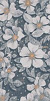 Керамический гранит Розелла серый декорированный лаппатированный 119,5х238,5 SG591102R