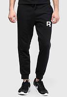 Мужские спортивные штаны в стиле REEBOK | РИБОК черные