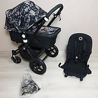 Детская коляска Bugaboo Cameleon 3 Black&We Are Handsome Бугабу Камелеон