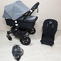 Детская коляска Bugaboo Cameleon 3 Black&Grey Melange Бугабу Камелеон
