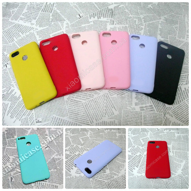 TPU чехол Candy накладка бампер для Xiaomi (Ксиоми) Mi A1 / 5X