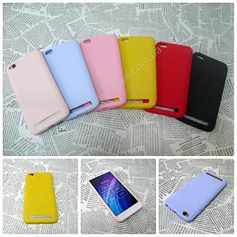 TPU чехол Candy накладка бампер для Xiaomi (Ксиоми) Redmi 4A