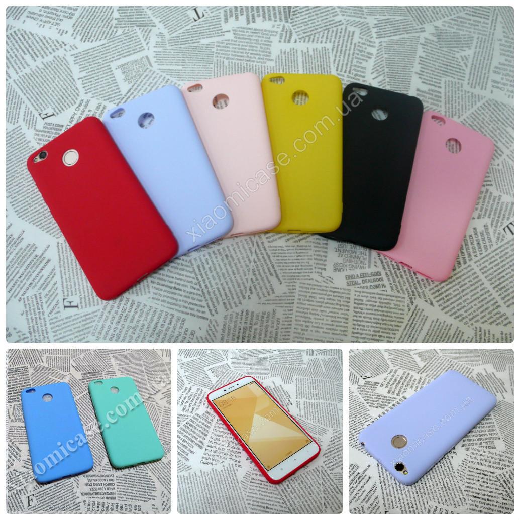 TPU чехол Candy накладка бампер для Xiaomi (Ксиоми) RedMi 4X
