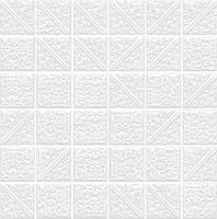 Керамическая плитка Ла-Виллет белый 30,1х30,1х6,9 21023