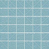 Керамическая плитка Ла-Виллет бирюзовый темный 30,1х30,1х6,9 21030