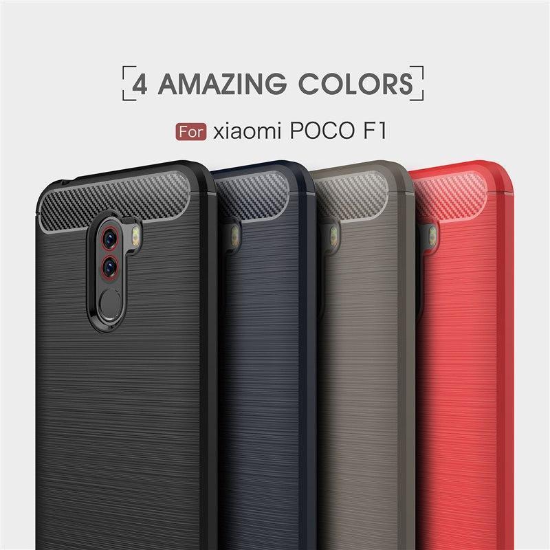 Стильный TPU чехол Urban для Xiaomi (Ксиоми) Pocophone F1