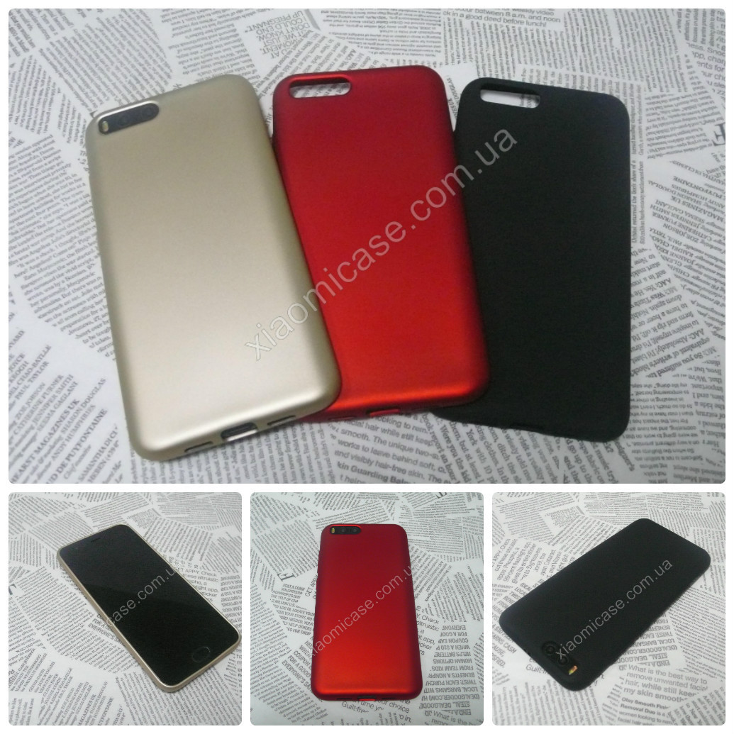 TPU Soft-touch чехол Rock накладка бампер для Xiaomi (Ксиоми) Mi5S (3 цвета)