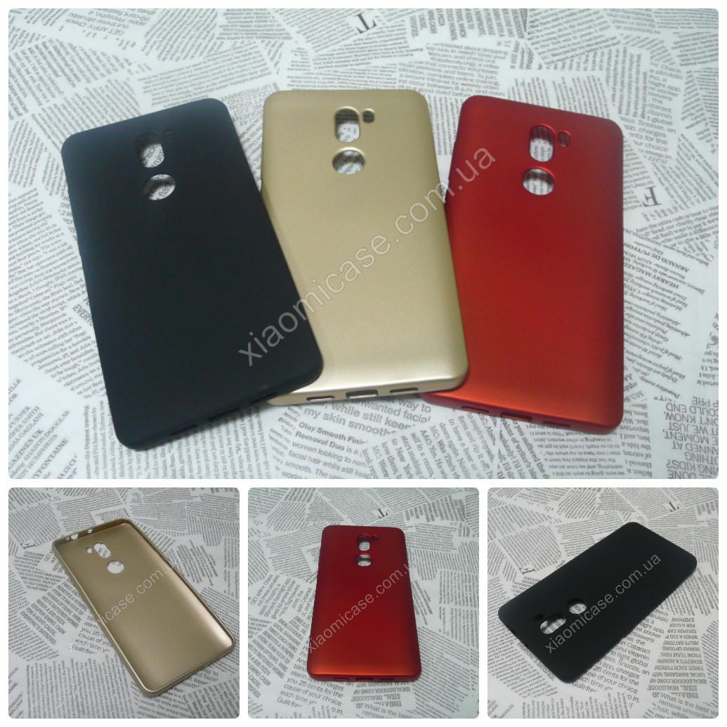 TPU Soft-touch чехол Rock накладка бампер для Xiaomi (Ксиоми) Mi5S Plus (3 цвета)