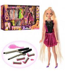 "Кукла Барби с гардеробом и плойками для волос ""Bettina"""