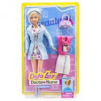 "Кукла Барби ""Defa Lucy: Доктор"" (в голубом)"