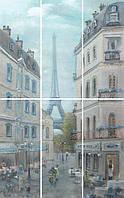 Керамическая плитка Панно Кантри Шик Париж VB\A14\6x\7071