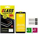 Защитное стекло для XIAOMI Redmi 6/6A Full Glue (0.3 мм, 2.5D, чёрное), фото 2