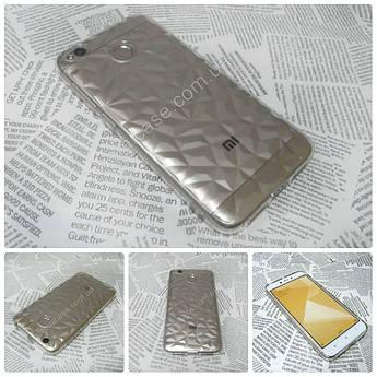 Силиконовый чехол Crystal для Xiaomi (Ксиоми) Redmi 4Х прозрачный