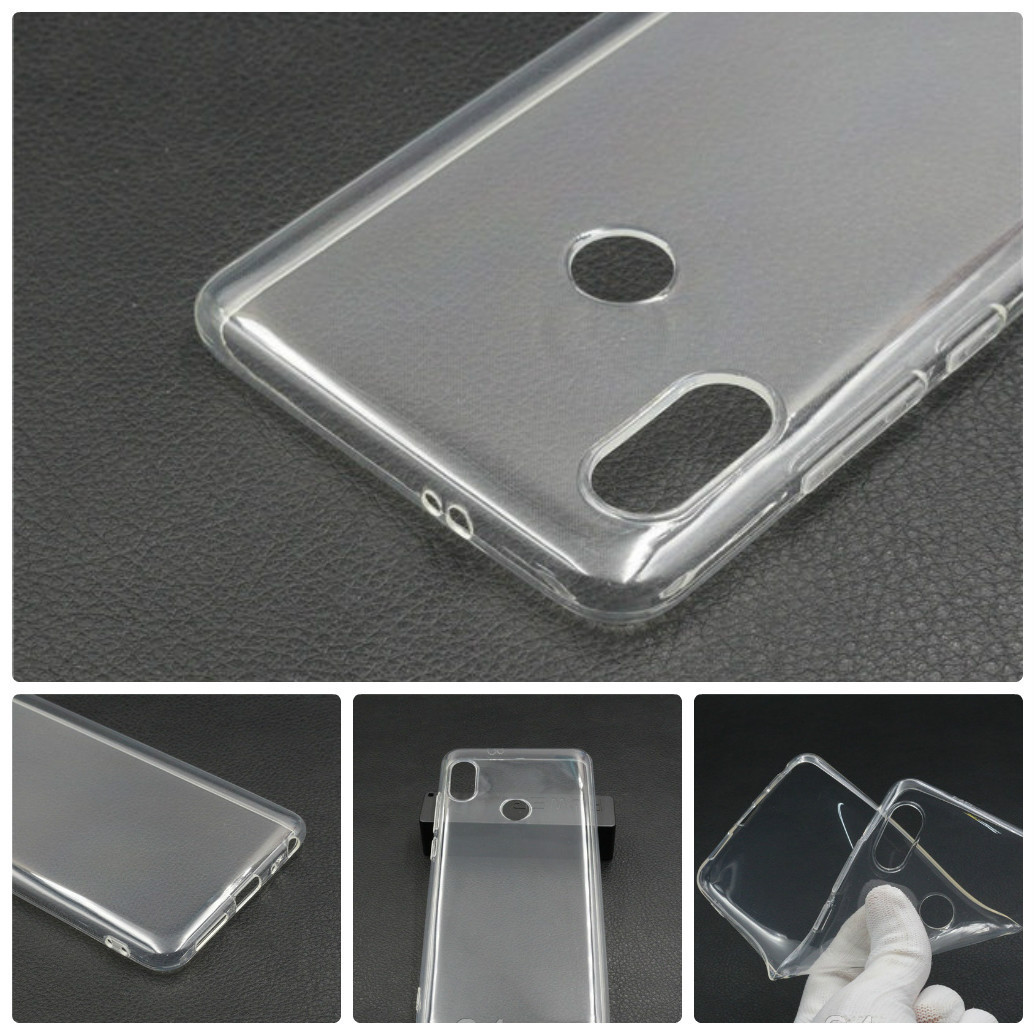 Ультратонкий чехол для Xiaomi (Ксиоми) Redmi Note 6 Pro прозрачный