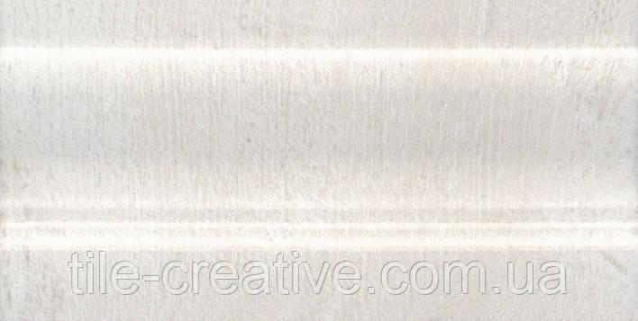 Керамическая плитка Плинтус Кантри Шик белый 20х10х14 FMC010