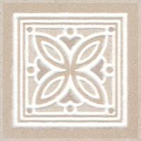 Керамическая плитка Вставка Трианон 9,6х9,6х9,5 AD\A432\SG4574