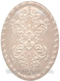 Керамічна плитка Декор Версаль беж 12х16х10 OBA009