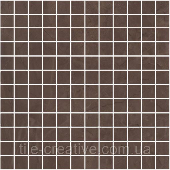 Керамическая плитка Декор Версаль коричневый мозаичный 30х30х9 MM11139