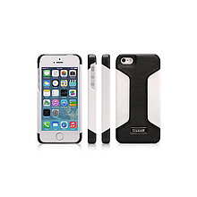 Чехол iCarer для iPhone 5/5S/5SE  Colorblock Black/White