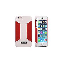 Чехол iCarer для iPhone 5/5S/5SE  Colorblock White/Red