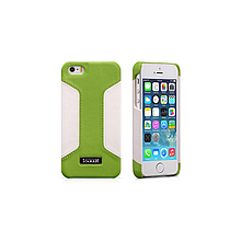 Чехол iCarer для iPhone 5/5S/5SE  Colorblock Green/White