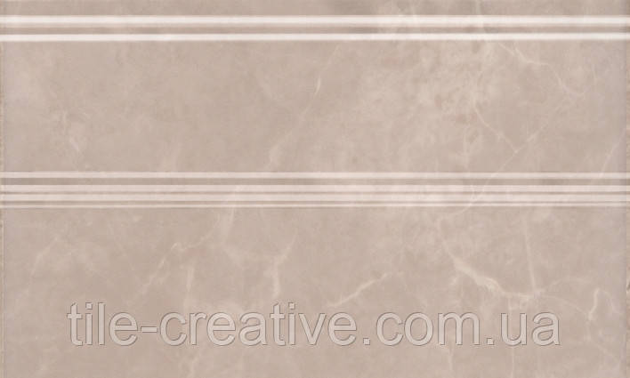 Керамическая плитка Плинтус Гран Пале беж 25х15х15 FMB010