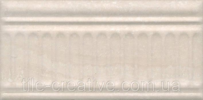 Керамічна плитка Бордюр Олімпія беж 20х9,9х9,2 19047\3F