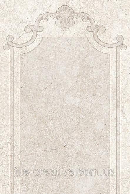 Керамическая плитка Лютеция беж темный панель 20х30х7,7 8302