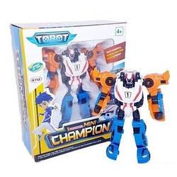 Трансформер 529 Тобот Тритан 20 см, робот 3 машинки Tritan Champion