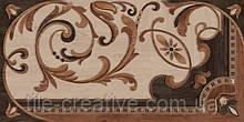 Керамический гранит Гранд Вуд декорированный левый обрезной 80х160х11 DD570700R