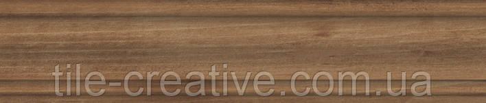 Керамічний граніт Плінтус Гранд Вуд беж 39,8х8х15,5 DD7504\BTG